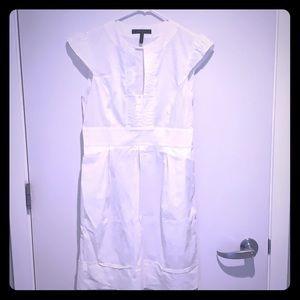 BCBGmaxazria white dress size large